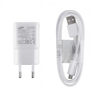 SAMSUNG EP-TA20EWE Adaptive Fast Charging Wall Charger with USB Charging Cable